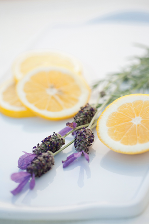 Lavender & Lemon Peel